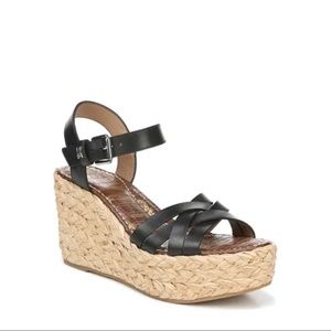 NWOT SAM EDELMAN Darline Platform Wedge Sandals